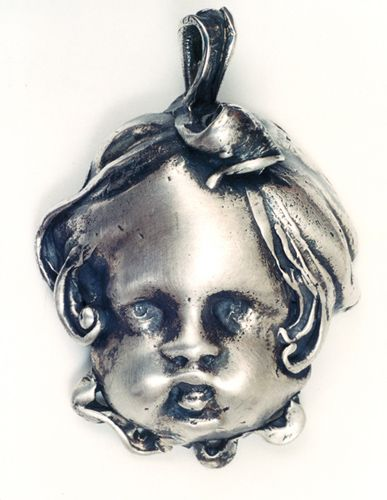Pendant with Cupid Head